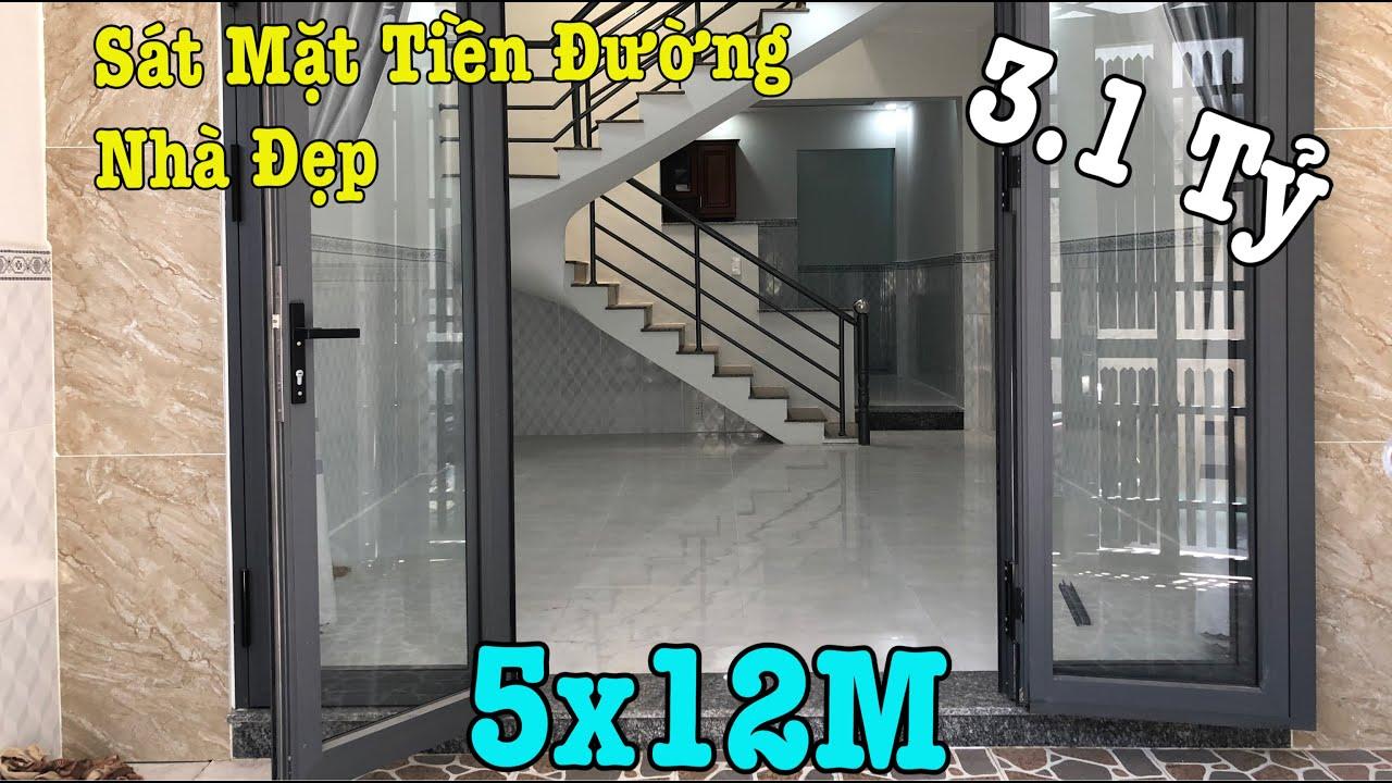 Bán Nhà Quận 12, Vị Trí Đẹp Sau Căn Mặt Tiền Đường Nguyễn Thị Kiểu P.Tân Thới Hiệp DT 5x12M, Giá Mềm