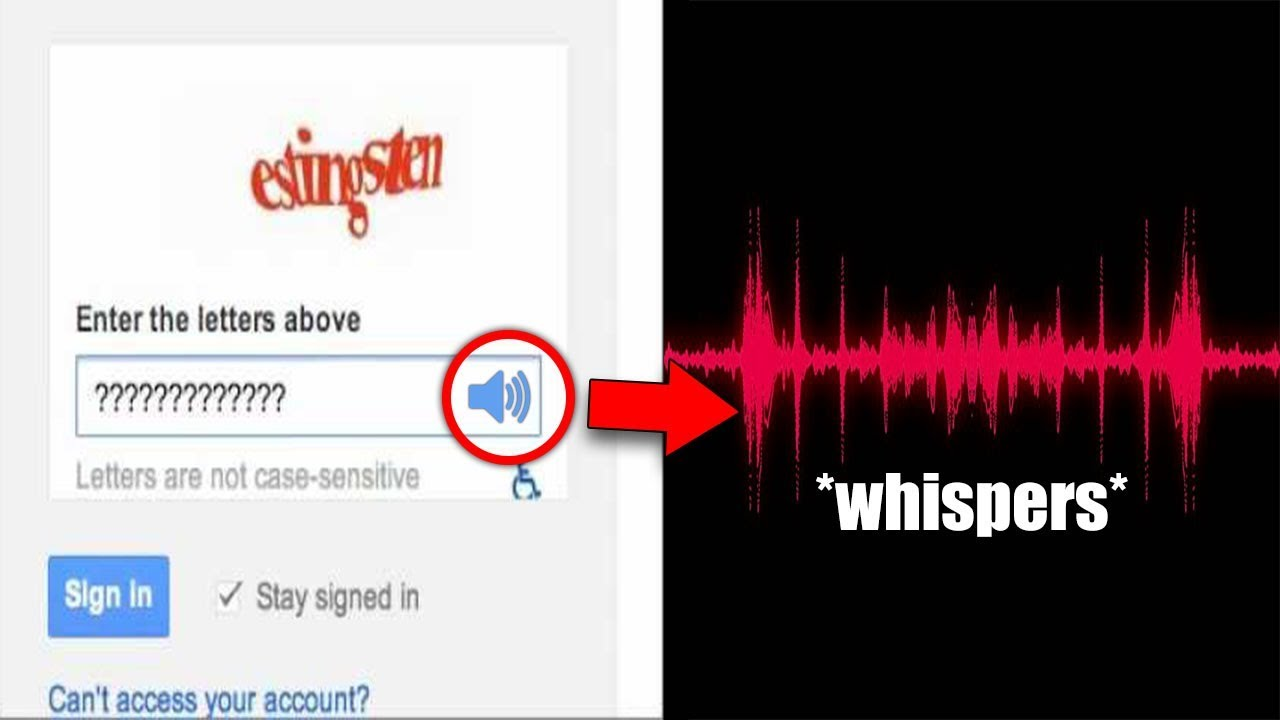 9 Audio Captchas Too Creepy to Hear