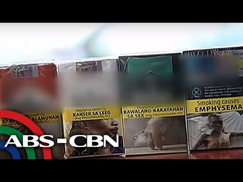 TV Patrol: Benta ng sigarilyo kasunod ng graphic health warnings, bumaba