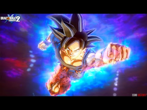 NEW Anime Moveset Ultra Instinct Goku Custom Combos - Dragon Ball Xenoverse 2! Goku VS Jiren