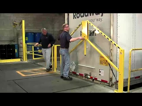 Folding Rail Dock Safety Gate