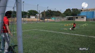 Трехлетний футболист из Индии