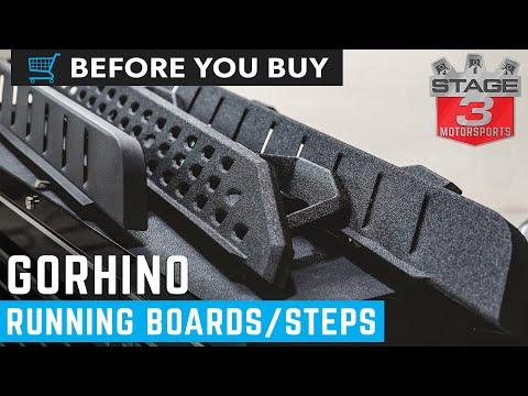 Go Rhino Running Boards Overview