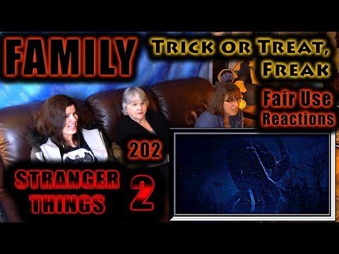 STRANGER THINGS 2 | TRICK or TREAT, FREAK | FAMILY Reactions | 202
