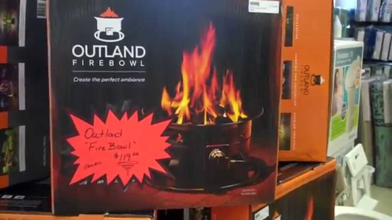 The Outland Firebowl Portable Campfire