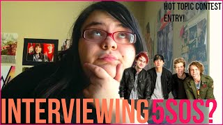 Download 5SOS HOT TOPIC ENTRY || Becky Elizabeth MP3 song and Music Video