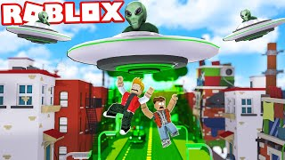 ALIENS HAVE INVADED THE CITY IN ROBLOX! (Mad City)