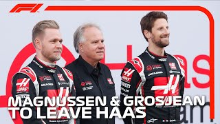 Romain Grosjean and Kevin Magnussen To Leave Haas: Who Replaces Them?