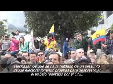 Consejo Nacional Electoral llama a elecciones pacíficas
