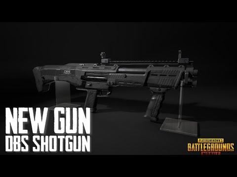 PUBG New Gun DBS ShotGun   DP12 Shotgun In PUBG - UPCOMING GUN In Pubg MOBILE   New SHOTGUN In PUBGM