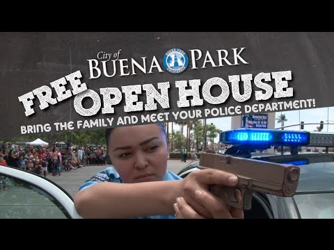 Buena Park Police and City Hall Open House 2016