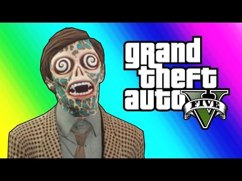 Thumbnail: GTA 5 Slasher Funny Moments - Epic Flashlight Kill! (GTA 5 Online)