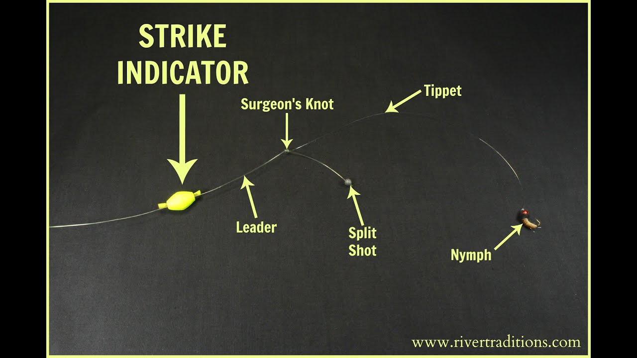 How to fish a strike indicator youtube for How to fish