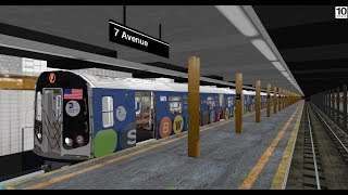 OpenBVE Special: Subway Library Wrap on the F Line from Coney Island to Jamaica 179