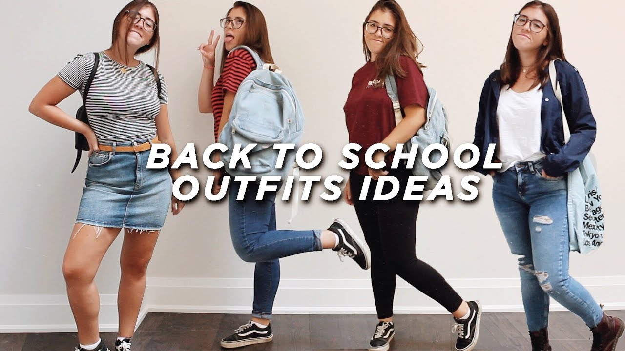 [VIDEO] - 10 Realistic Back To School Outfit Ideas | Outfits You Can Actually Wear to School! 1