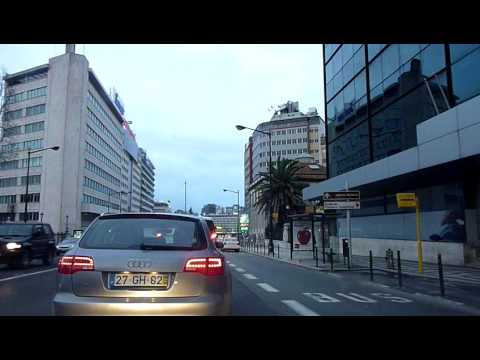 Driving in Lisbon, Portugal (1)