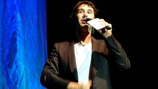 Josh Groban - Speaking German - Q&A - Berlin Tempodrom 16.09.2011