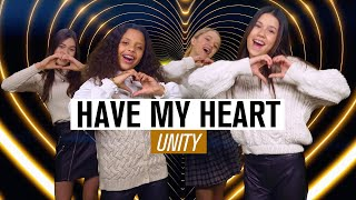 UNITY - HAVE MY HEART 💛 [OFFICIAL MUSIC VIDEO] | JUNIOR SONGFESTIVAL 2021 🇳🇱