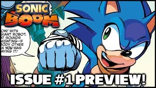 Sonic Boom Comic - Issue #1 Preview!