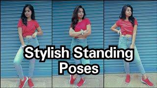 Standing Poses How To Pose For Photoshoot Simple \u0026 Easy Poses Candid Pose Santoshi Megharaj