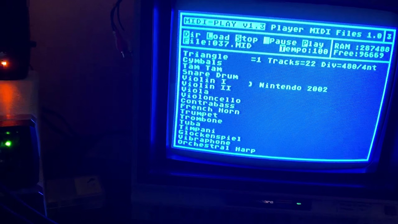 1088XLD MIDI Output Tests Continued