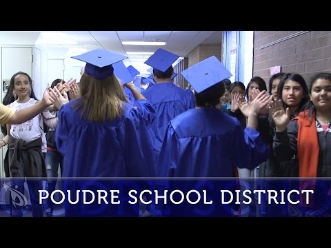 Poudre High School Seniors visit Lincoln Middle School
