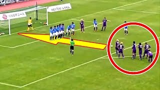 Best Smart Free Kick Goals ● Football