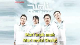 Video Wali - Salam 5 Waktu   Video Lirik download MP3, 3GP, MP4, WEBM, AVI, FLV Oktober 2017