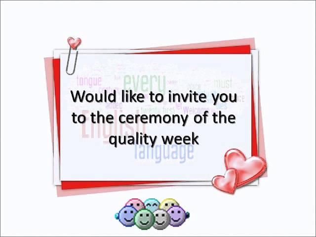 بطاقة دعوة قسم اللغة الانجليزية الاستاذة ديمة حمد الحارثي Youtube