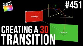 MBS Ep 451: Creating a 3D Transition for Final Cut Pro X