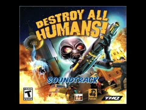 Destroy All Humans! soundtrack 07. Little Star; Static Revenger Mix