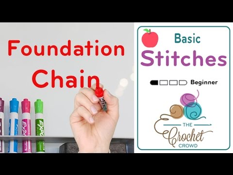 Different Crochet Stitches Youtube : How to Crochet Foundation Half Double Crochet Stitch - YouTube