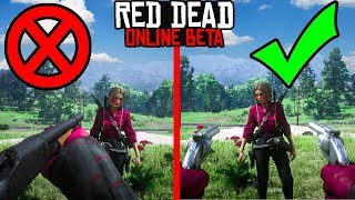 SECRET WAY TO BEAT GRIEFERS in Red Dead Online! Red Dead Redemption 2 Online Tips and Tricks!