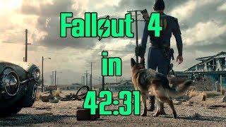 Fallout 4 Speedrun in 42:31 (World Record)