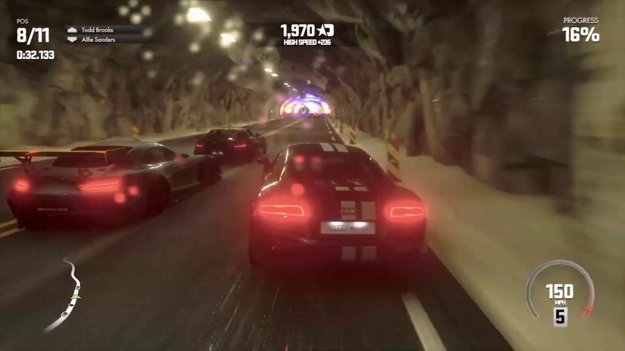 Driveclub Map Size on
