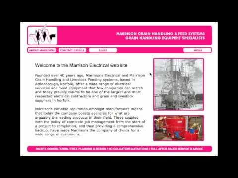 Studio Web Design portfolio: Marrison Electrical