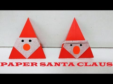 How to make Paper Santa Claus | Origami Santa Claus | Christmas Craft for Kids