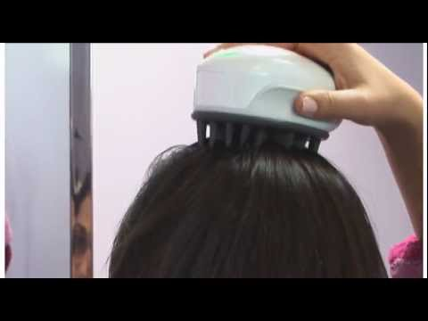 Increase Hair Growth! Stimulate and Cleanse the Scalp with the Hair Sonic by TEI Spa