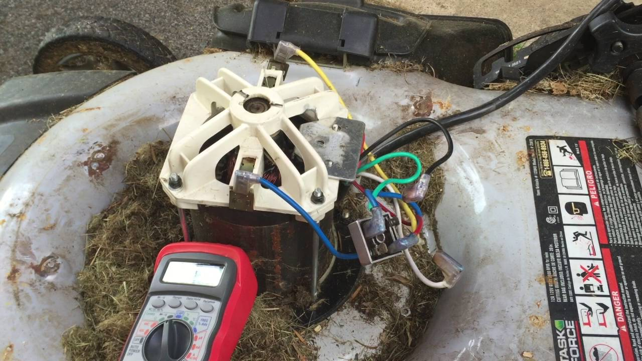 How To Fix Electric Lawnmower (Rectifier)