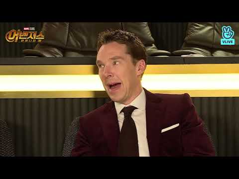 (HD full version)Benedict Cumberbatch, Tom Hiddleston and Tom Holland on Korean TV show