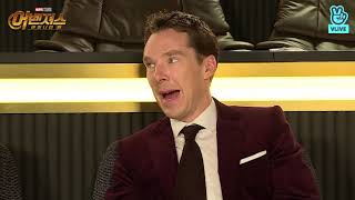 (HD full version)Benedict Cumberbatch, Tom Hiddleston and Tom Holland on Korean TV show