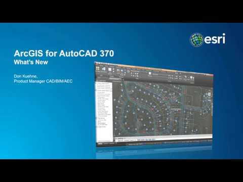 Autodesk and Esri: New release of ArcGIS for AutoCAD