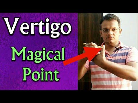 Acupressure Point For VERTIGO - Cure Vertigo In Just 2 ...