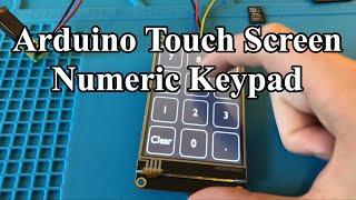 Easy Arduino Touch Screen USB Keypad Tutorial with Nextion Display