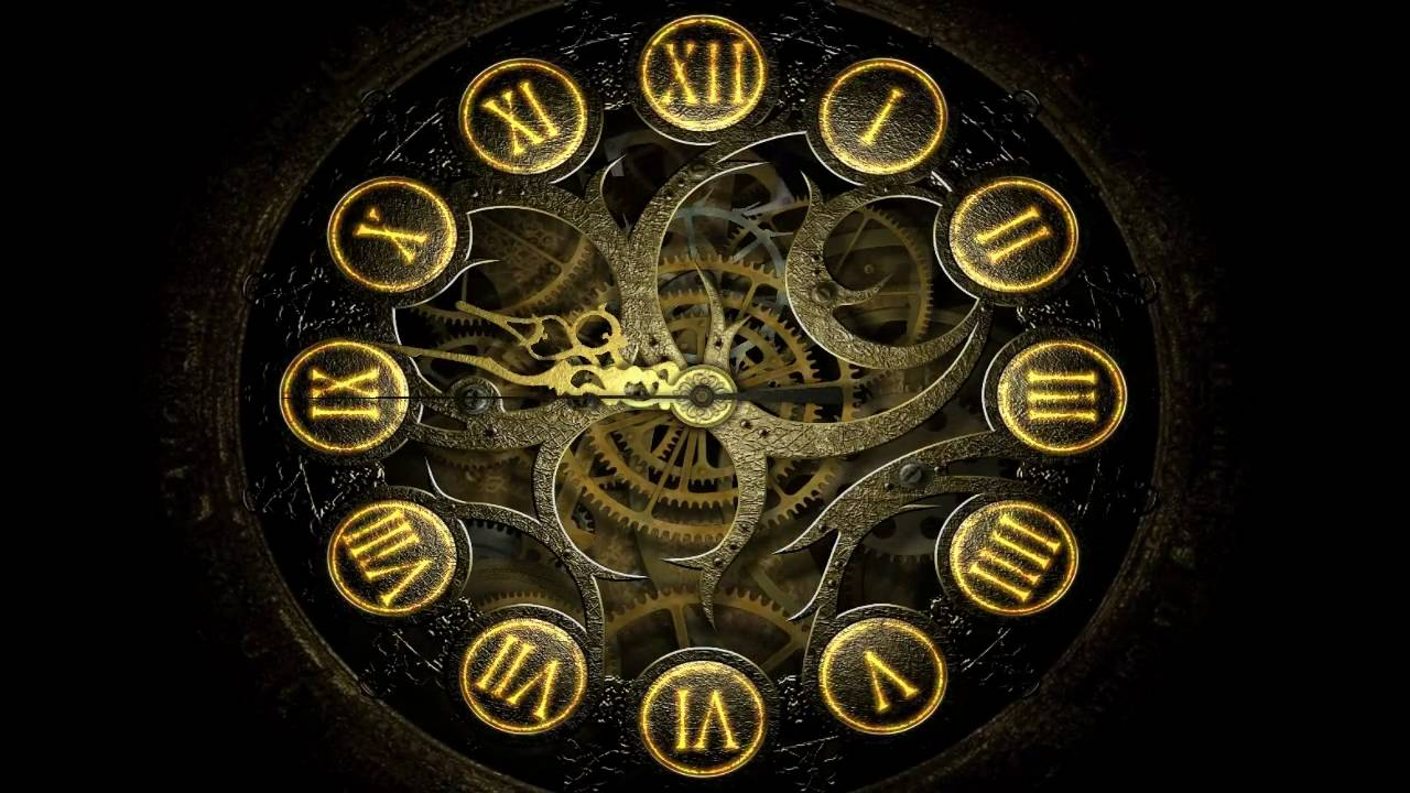 Free 3d Wallpaper For Windows 7 Mechanical Clock 3d Awesome Hi Def Screensaver Youtube