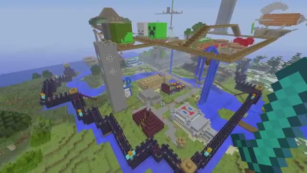 minecraft world tour minecraft world tour Episode1 awesome