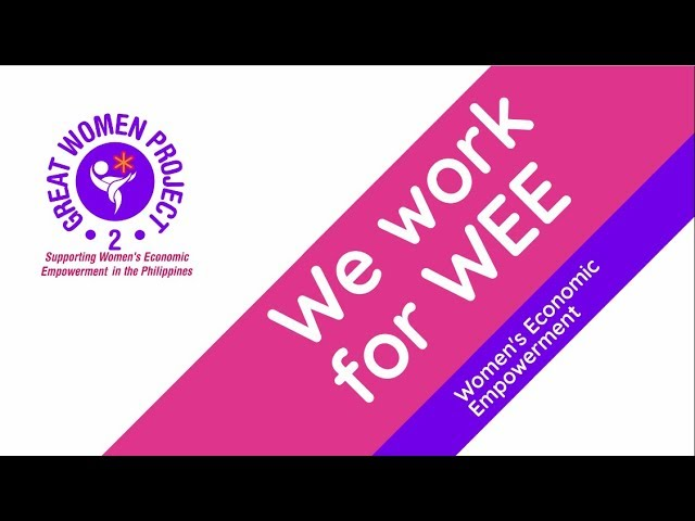 We work for WEE- The GREAT Women Project 2