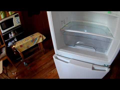 Перестановка дверцы холодильника