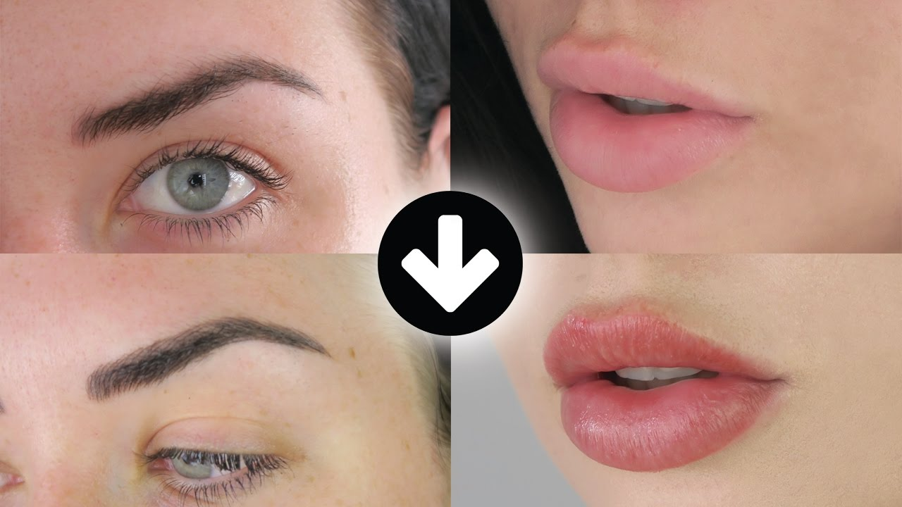 Feather Touch Brow Tattoo and Lip Blush Tattoo (My Experience + Tips ...