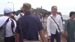 春の散歩 江の島 江の島弁天橋を歩く 2014.5.3  Enoshima
